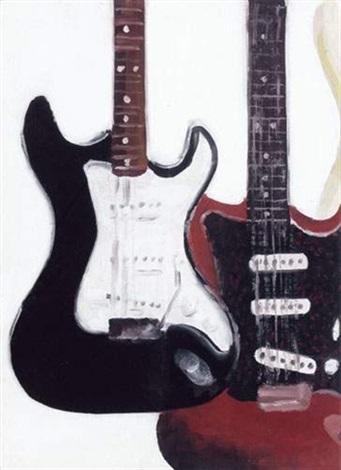 couple de guitare by carole benzaken