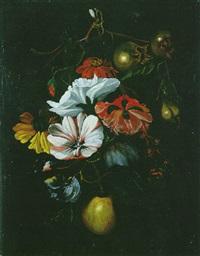 blumen- und fruchtgehänge by cornelis kick