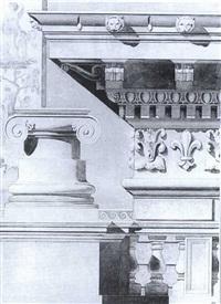 etude de frise et de chapiteau by galileo barrucci