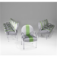 dining chairs (set of 10) by pace manufacturing (co.)