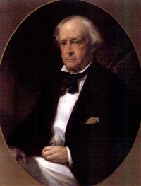 portrait of john slidell by benjamin franklin reinhart