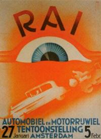 r.a.i. automobiel en motorrijwiel tentoonstelling by jacob jansma