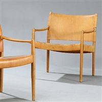 premiär-69 armchairs (pair) by per-olof scotte
