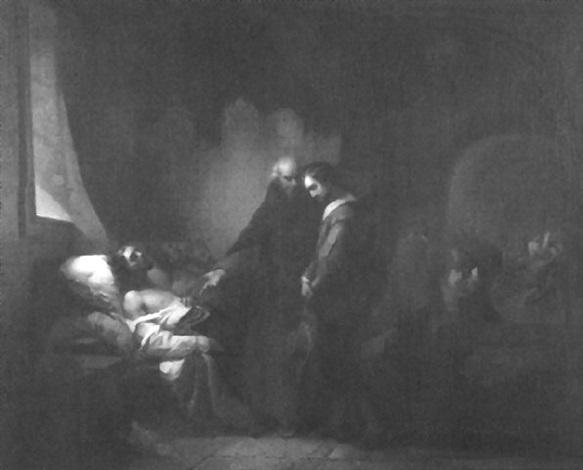 klosterinterieur zur zeit der renaissance by louis delehaye