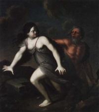 neptun verfolgt amphitrite by franz ludwig raufft