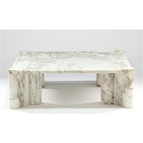 Jumbo Marble Coffee Table By Gae Aulenti On Artnet