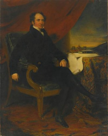 portrait of nathaniel von werthemstein by thomas lawrence