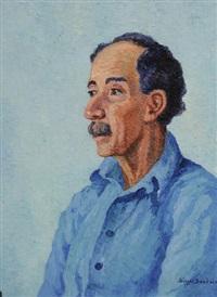 portrait of h.f. costa by birger sandzen