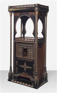 cabinet by carlo bugatti