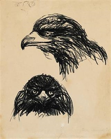 rovfugl bird of prey by edvard munch