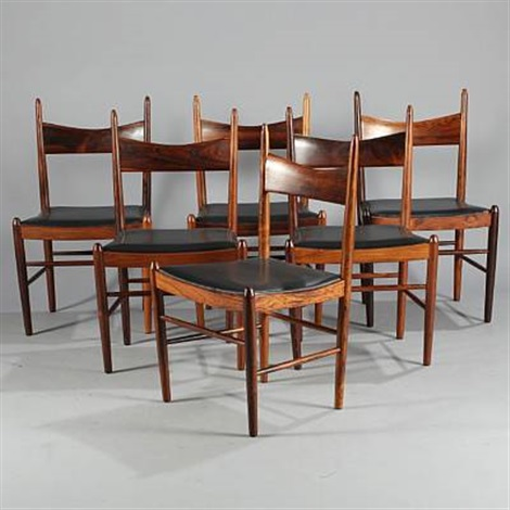 chairs set of 6 by h vestervig eriksen