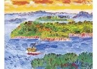 the vicinity of nakato island, seto inland sea by hitone noma