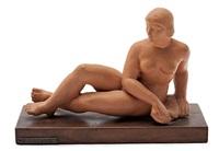 desnudo feminio reclinado by rafael solanic