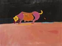ohne titel (schweinchen) by norbert bisky