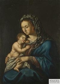die madonna mit dem christusknaben by gortzius geldorp