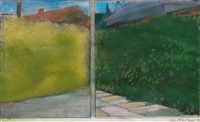 suburbs: two hedges series by ivor abrahams