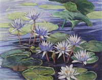 waterlilies by william joseph eastman