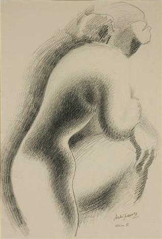 nude series b by alexander archipenko