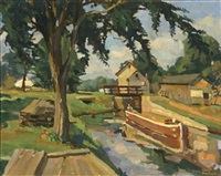 the little bridge by william gurowitz