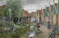 holländische gracht by otto piltz