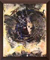 kompozíció nr. 219 - fekete robbanás by andrás rác