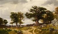 landschaft mit ziegenhirten by johann wilhelm schirmer