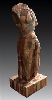 唐菩萨(东方维纳斯) 红 (tang buddha (eastern venus)) by dai yun