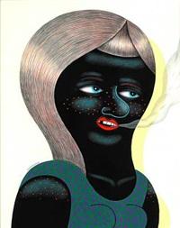 smoking lady by huskmitnavn