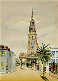 st. philips church, charleston by edith demay smith