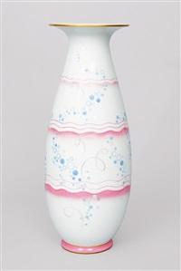 a vase by felix aubert and r. gabriel