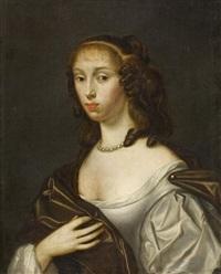 porträt einer jungen dame by gilbert stuart