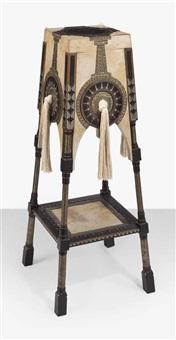 pedestal by carlo bugatti