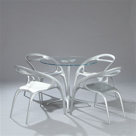 Surprising Dining Room Suite Set Of 5 By Ross Lovegrove On Artnet Gmtry Best Dining Table And Chair Ideas Images Gmtryco