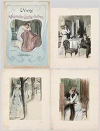 wen die götter lieben (17 illustrations) by rené reinicke