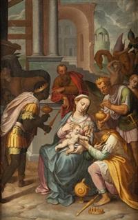 adoración de los magos by italian school (16)