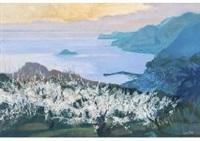 spring light in shodo island by hitoshi yamaba