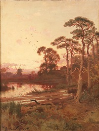 evening light by john horace hooper