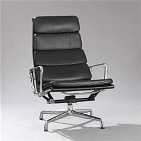 Eames Soft Pad Lounge Chair soft pad lounge chaircharles and ray eames on artnet