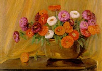 floral still life by clara l. maxfield