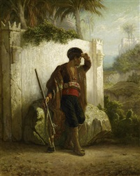 orientalischer wächter by gerritt postma