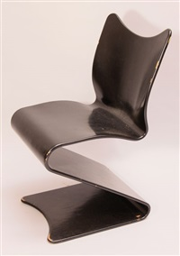 s-chair mod. 275 by verner panton