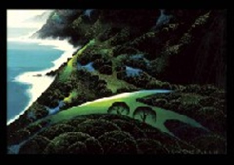 silent coast by eyvind earle