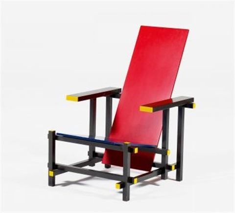 red and blue by gerrit thomas rietveld