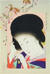 hana no sato (from ima sugata) (ôban) by shoun yamamoto