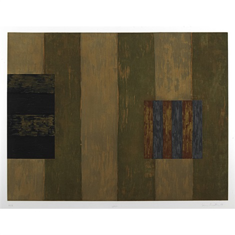 wall by sean scully