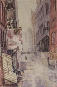 street scene by herman moerkerk