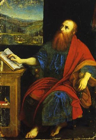 san paolo apostolo by romanino girolamo romani