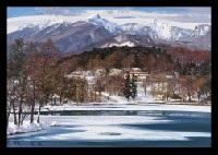 winter trip matsubara lake by hiroshi higuchi