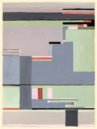 ohne titel (design for carpet) by gunta stolzl