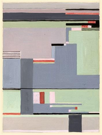 ohne titel (design for carpet) by gunta stolzl